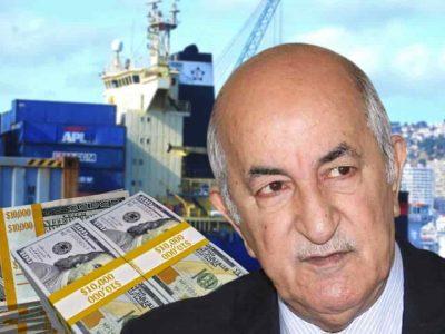Algérie importation Tebboune