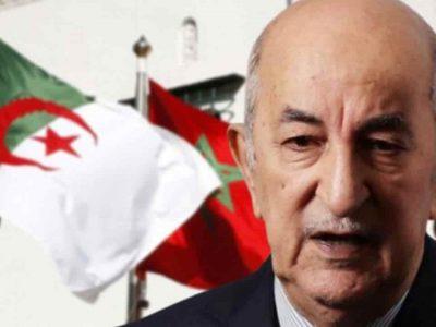 Algérie Tebboune Maroc
