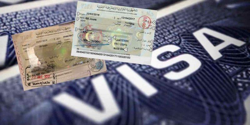 Algérie visa électronique