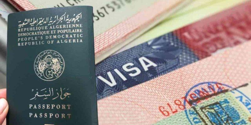 Algérie visa ukraine algériens