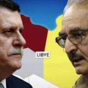 Libye Haftar al-Sarraj