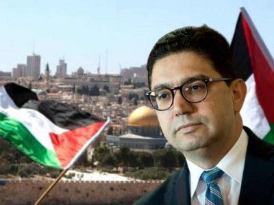 Maroc Nasser Bourita Palestine