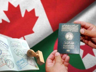 Visa canada algérie