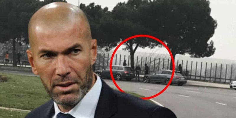 zidane accident de voiture