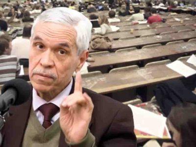Algérie chitour enseignant universite zero