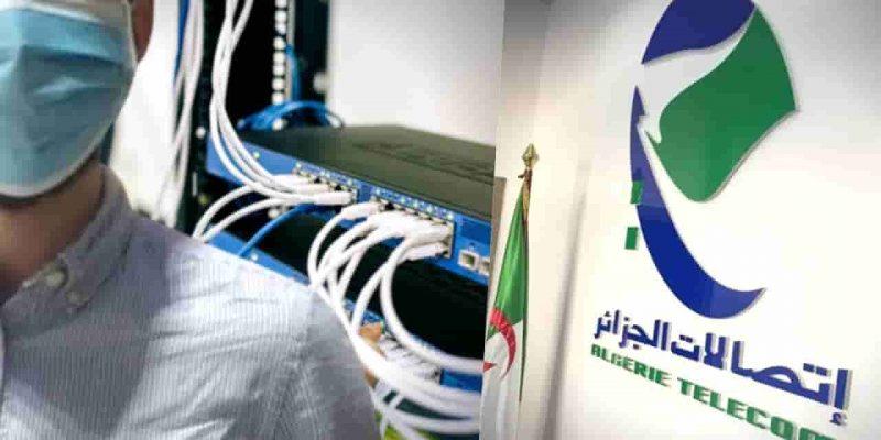 connexion débit internet algérie