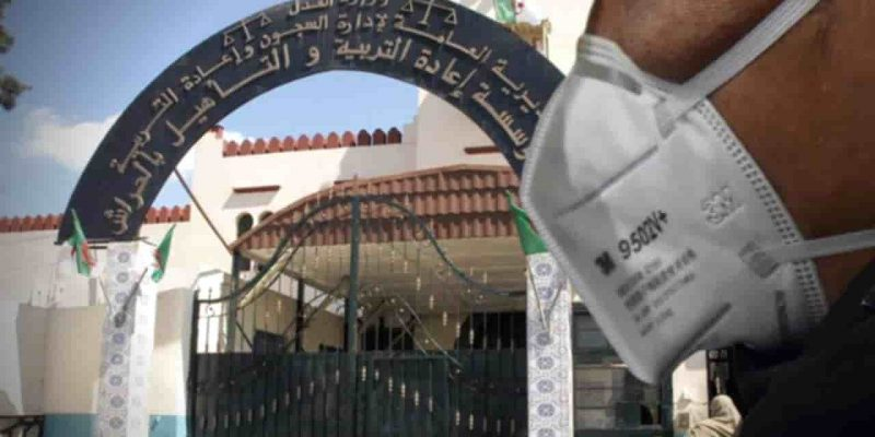 coronavirus prison algérie