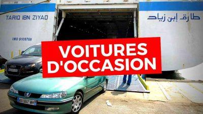 taxe voitures moins 3 ans algerie
