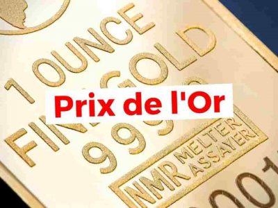 algerie prix gramme or