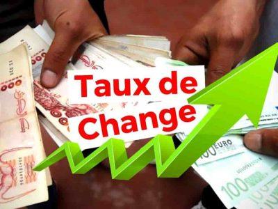 taux de change euro dinar algérien marché noir