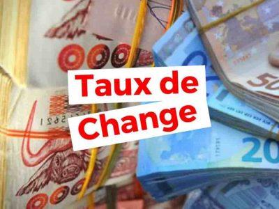 taux de change euro dinar marché noir