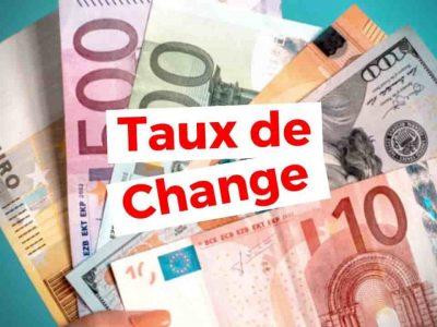 taux de change dinar euro
