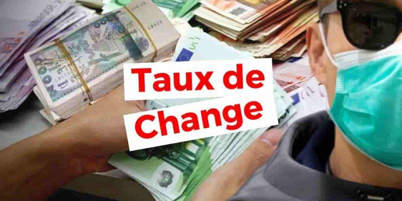algerie taux de change marché euro dinar