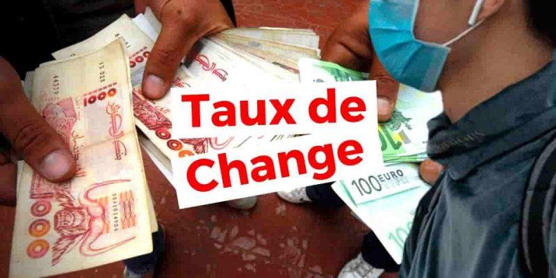 taux de change dinar