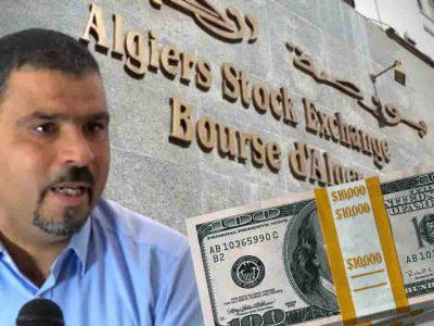 Bourse d'Alger marché noir