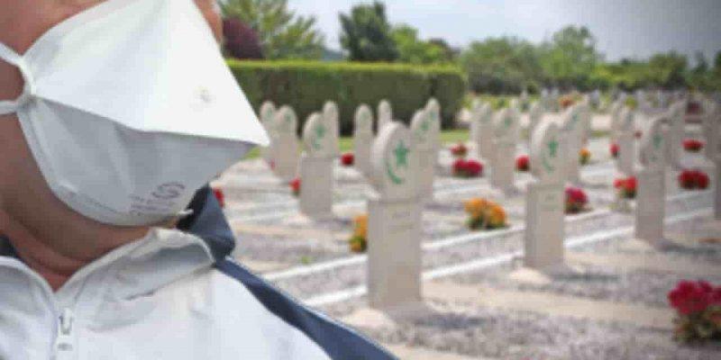 coronavirus algérie enterrement mort