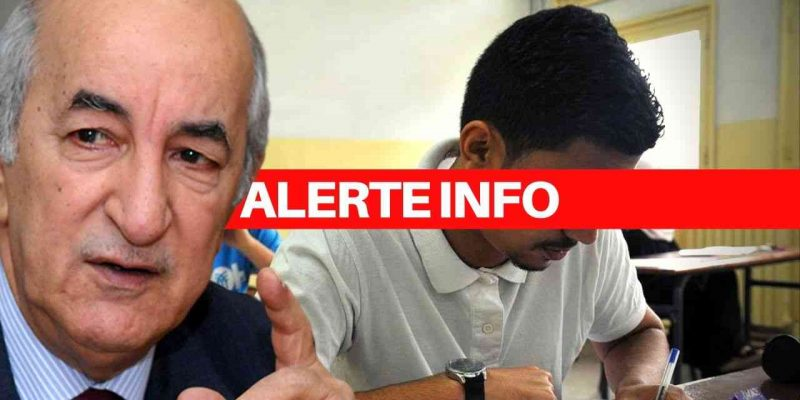 BAC reporté algérie