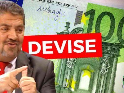 hausse euro dinar algérie