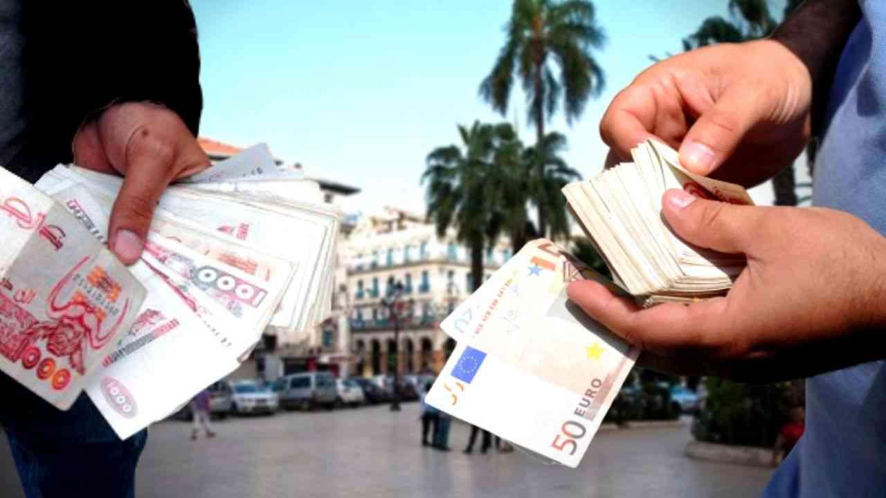 Taux de change marché noir algerie