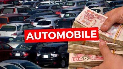 taxe véhicule neuf algérie