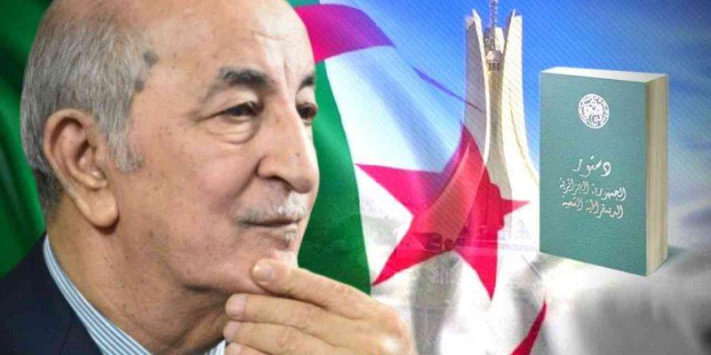 révision constitution algérie