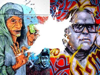 fresques murales algérie