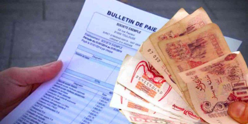 revenu minimum en Algérie
