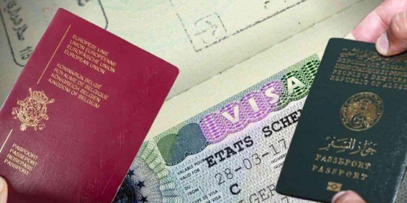 visa belgique algériens