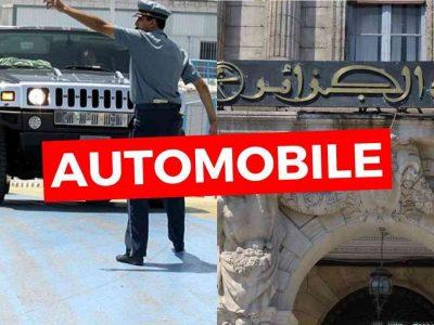 importation voitures en Algérie