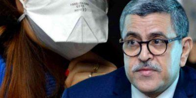 port du masque obligatoire en Algérie