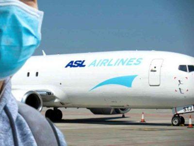 rapatriement algérie asl airlines
