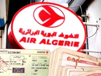 remboursement billets air algérie