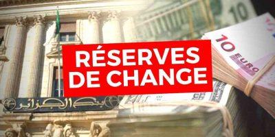 réserves de change de l'Algérie