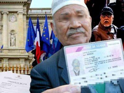 retraités algériens france