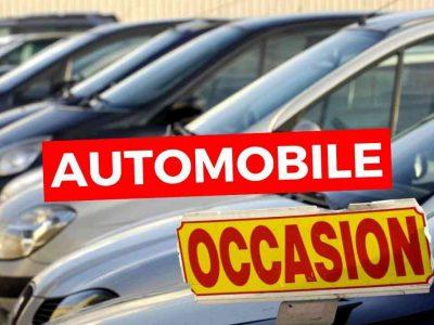 prix des voitures d'occasion