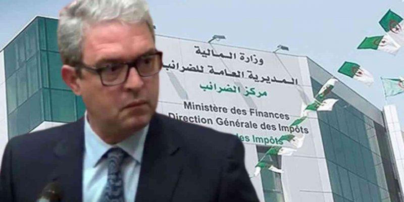 algérie commerçants industriels fiscale