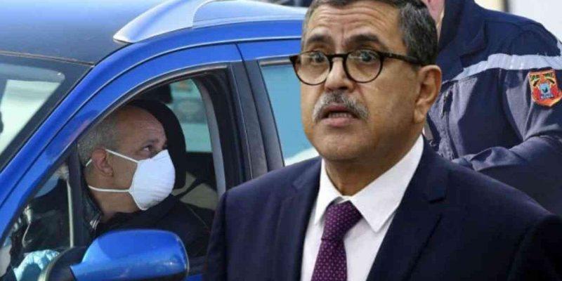 Algérie masque voitures