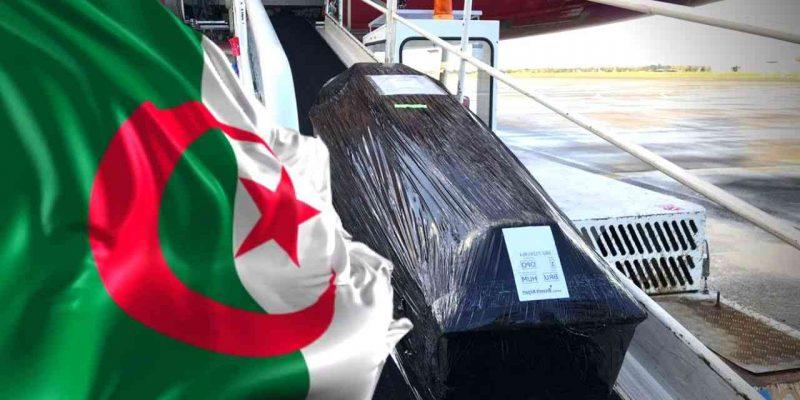 rapatriement dépouilles mortelles algérie
