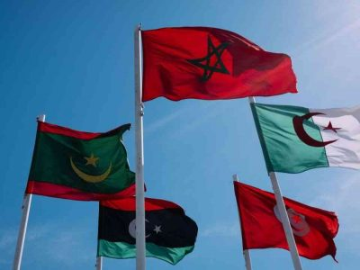 frontières algérie maroc tunisie