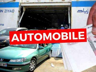 marché voitures algérie