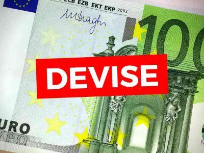 montant devise autorisé sans déclaration douanière