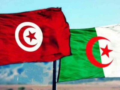 frontières tunisie algérie rouge