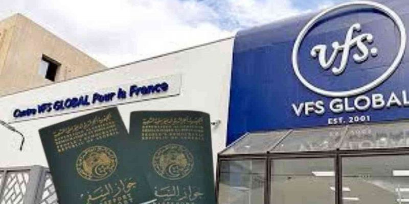 algérie vfs global date