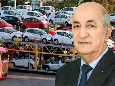 algérie charges voitures neuves