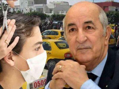 Algérie aide coiffeurs taxi