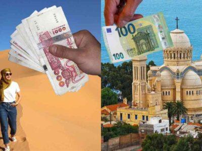 algérie dinar euro touristes