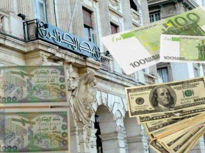 algérie dinar euro dollar