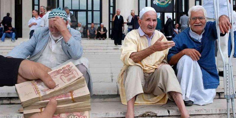 Algérie poste pensions retraite