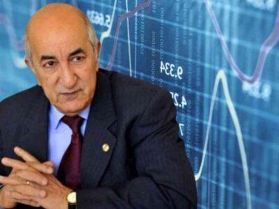 Algérie charges financières