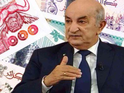 algérie tebboune argent volé